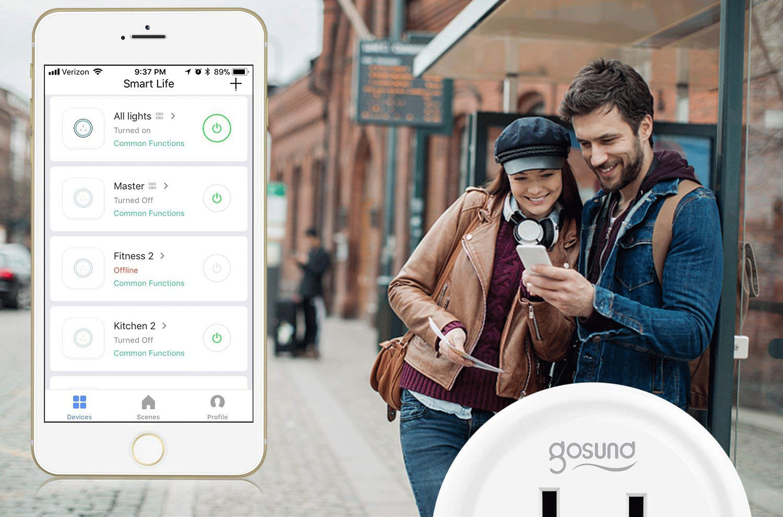 Gosund Wifi Smart Plugs