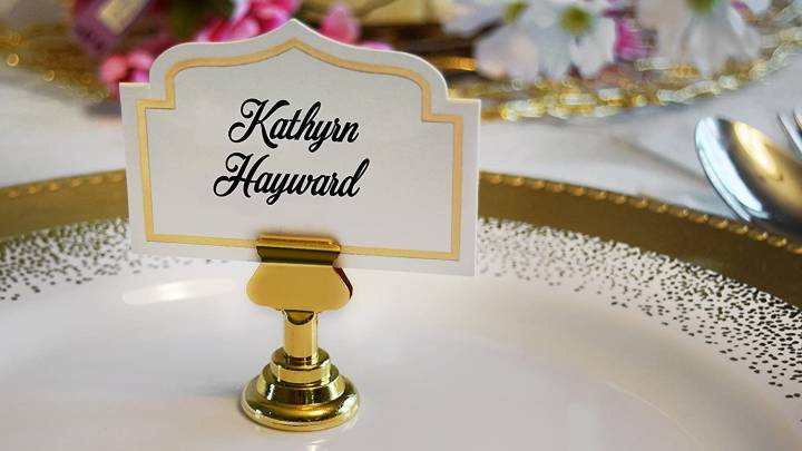 Top Place Card Holders