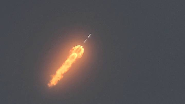 SpaceX rocket debris