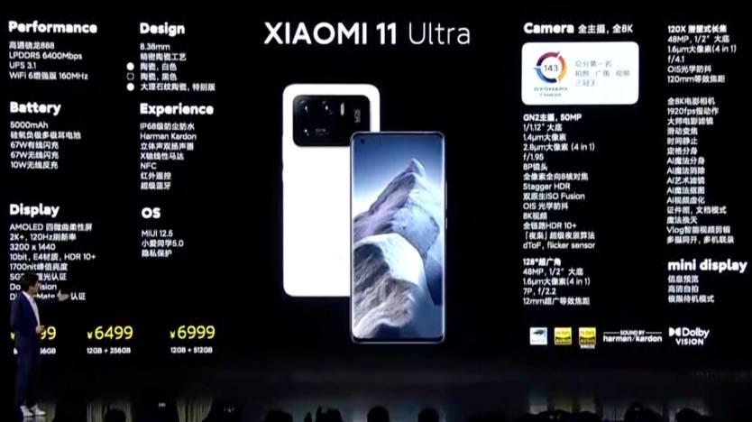 Xiaomi Mi 11 Lineup