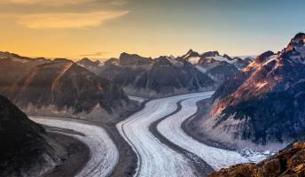 fast glacier