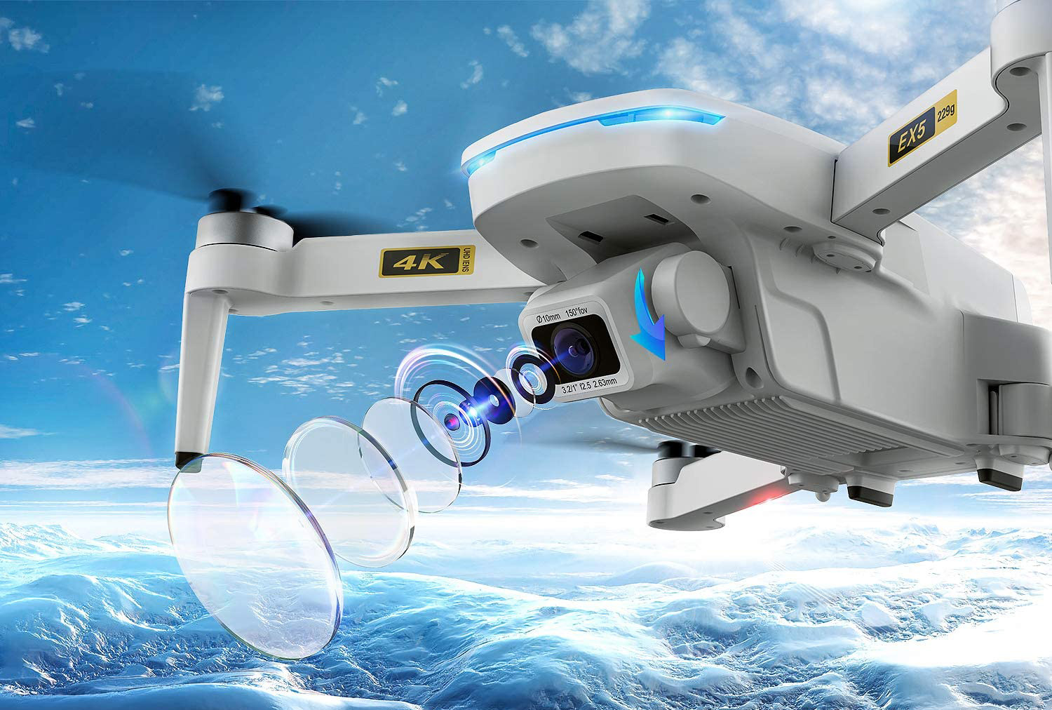 Get at a $190 4K camera drone for just $89.99 thanks to a huge $100 Amazon coupon thumbnail