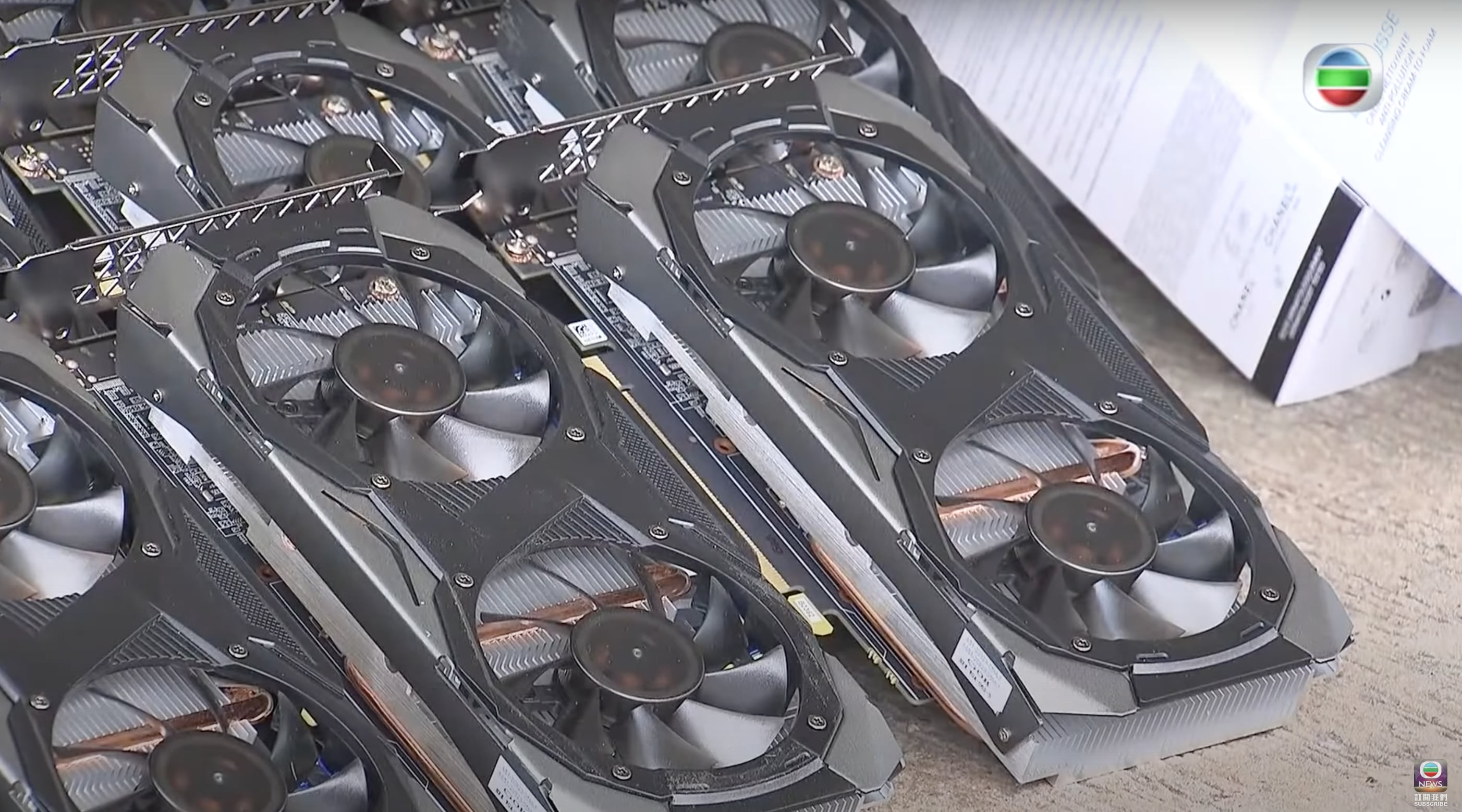 Smuggled Nvidia GPUs recovered after dramatic, high-speed boat chase