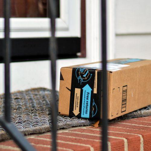 Amazon Scam Package At Door