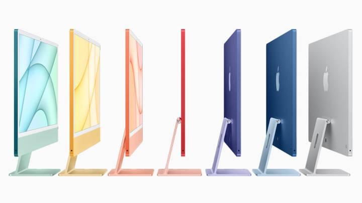 iMac iPad Pro Apple TV 4K