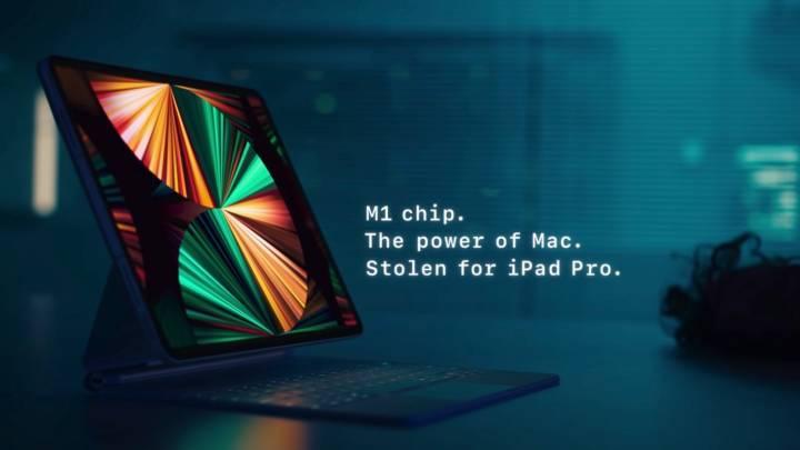 iPad Pro M1 vs. iPhone 12