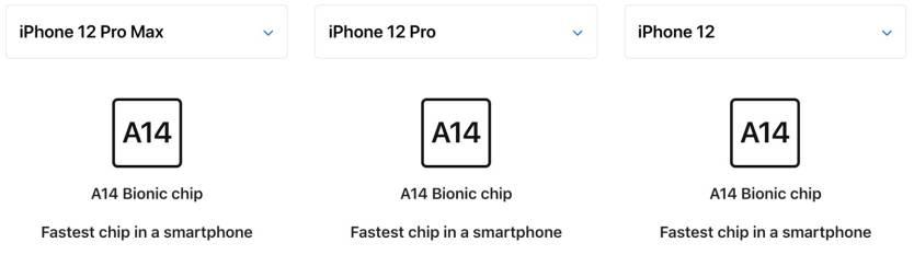 iPhone 12 Pro Max vs. iPhone 12 Pro