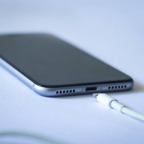 iPhone 13 charging