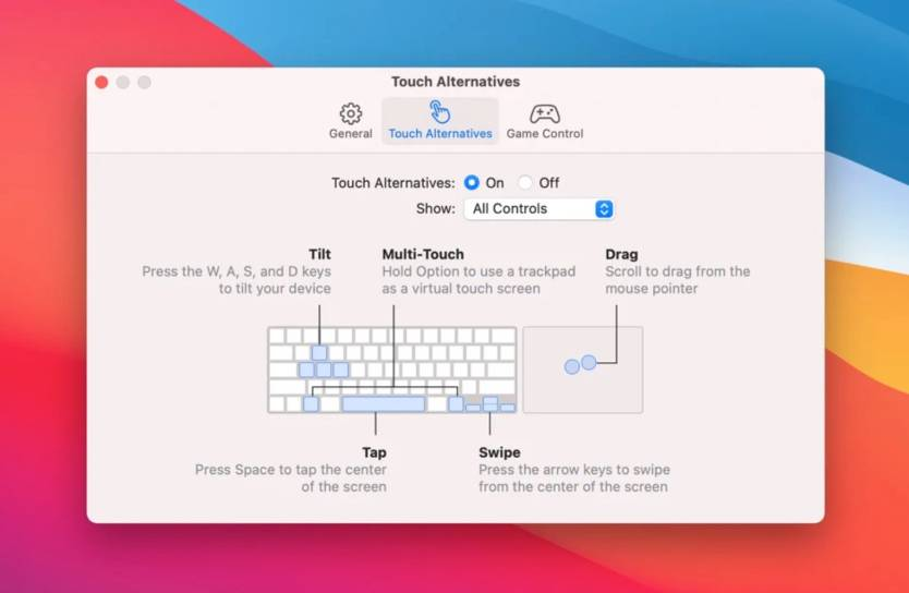macOS Touch Alternatives