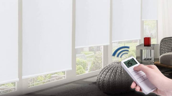 Top Remote Controlled Shades