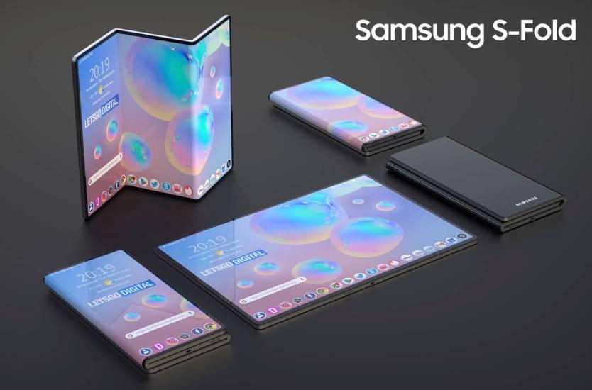 Galaxy Z Fold Tab Concept