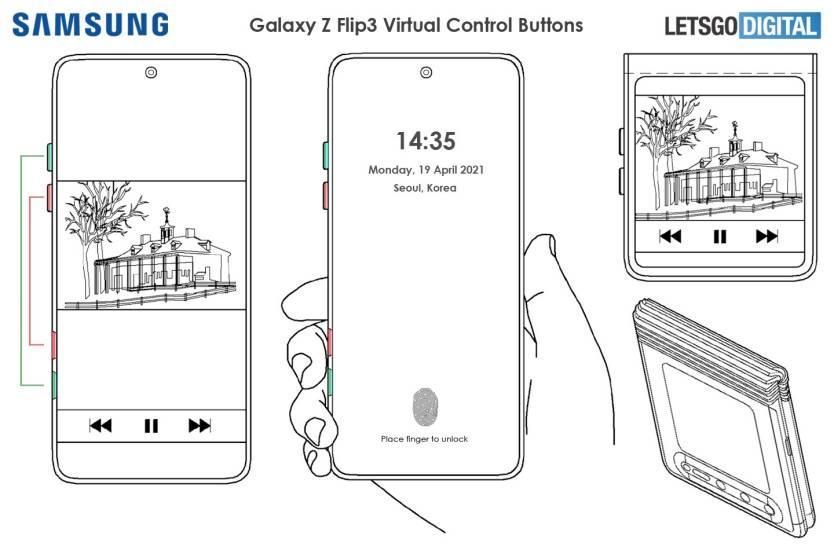 Galaxy Z Flip 3 Patent