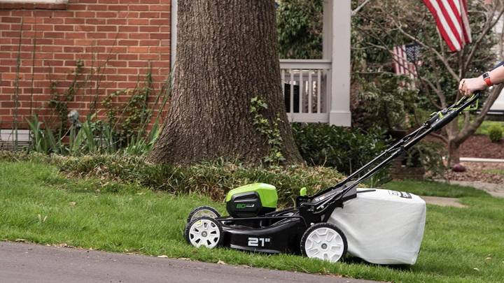Self-Propelled Lawn Mowers Amazon