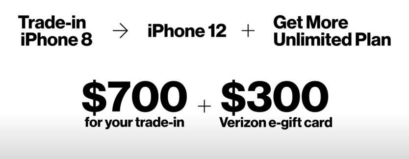 Verizon Broken iPhone Trade-in