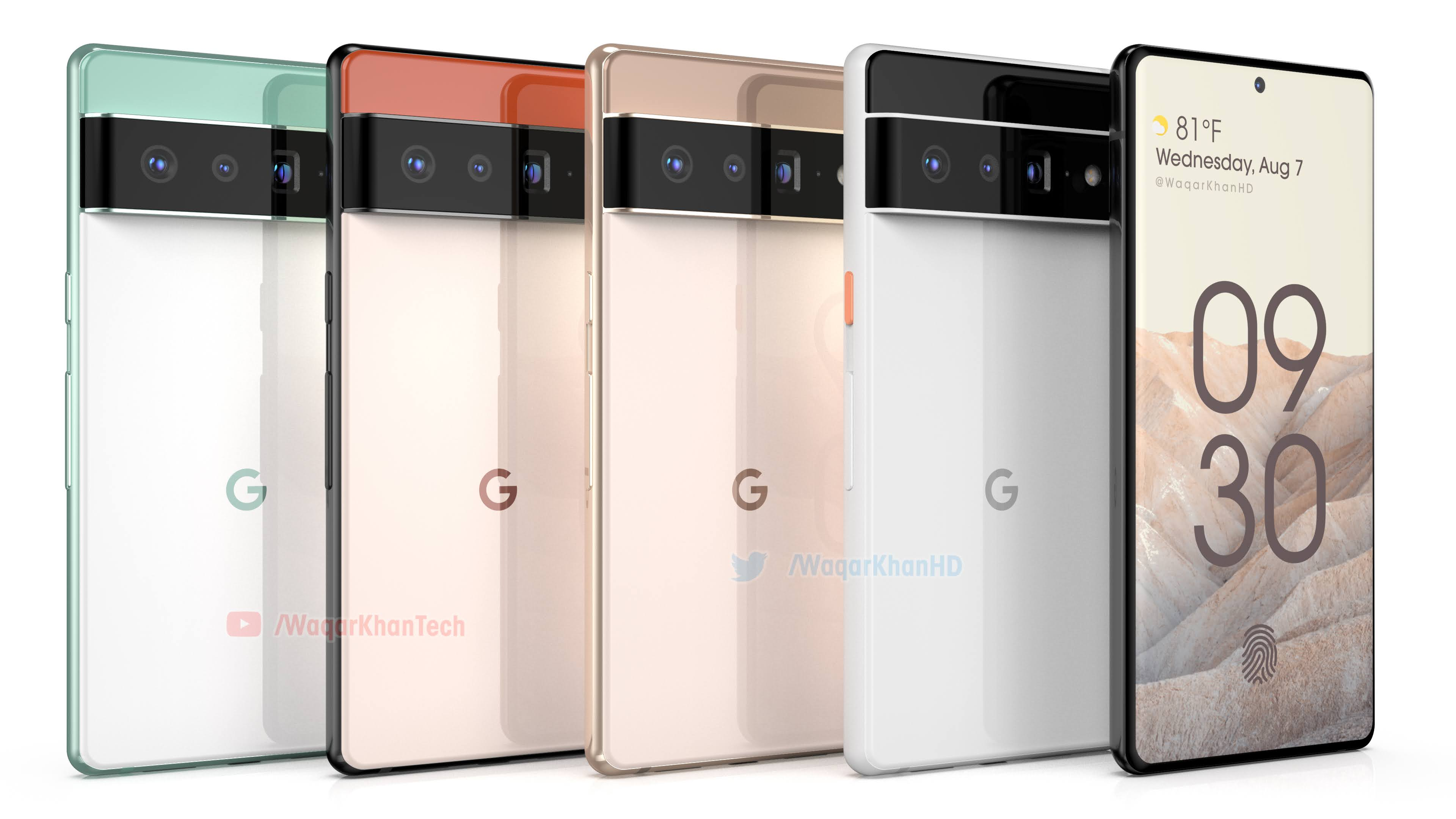 Google's exciting new Pixel 6 design leaked again - News Update