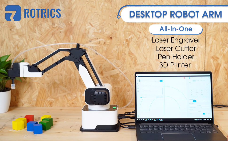 This mind-blowing robotic arm package on Amazon can write, 3D print, and shoot lasers thumbnail