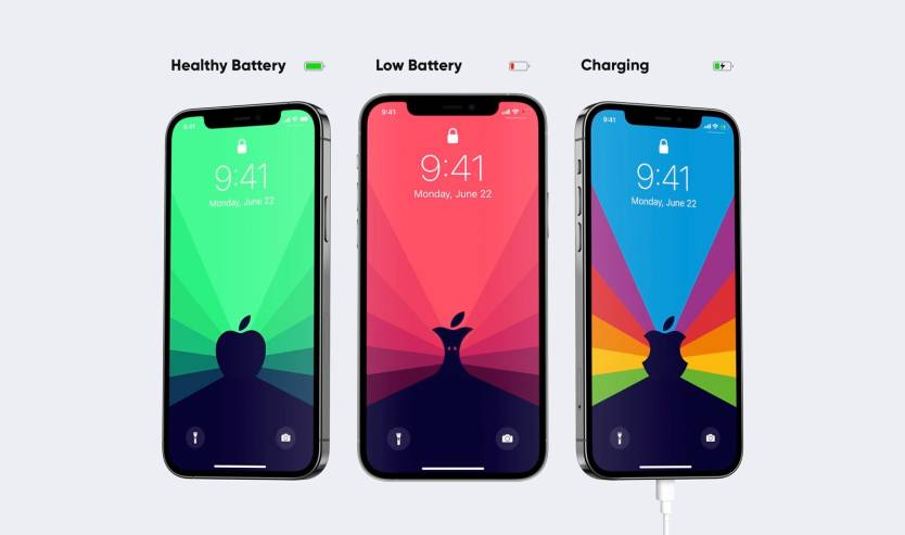 iPhone 12 Dynamic Wallpaper Battery Life