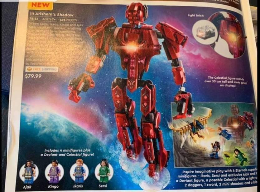 Eternals Lego Set