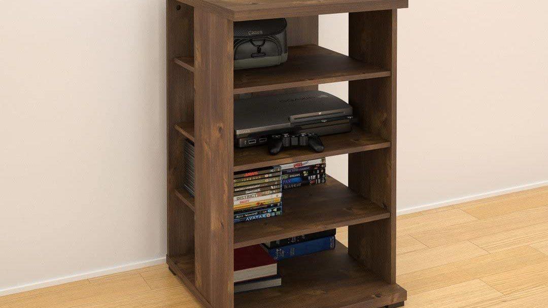 Best Four Shelf Unit