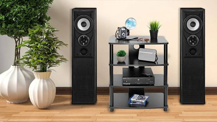 Top Storage for Stereos