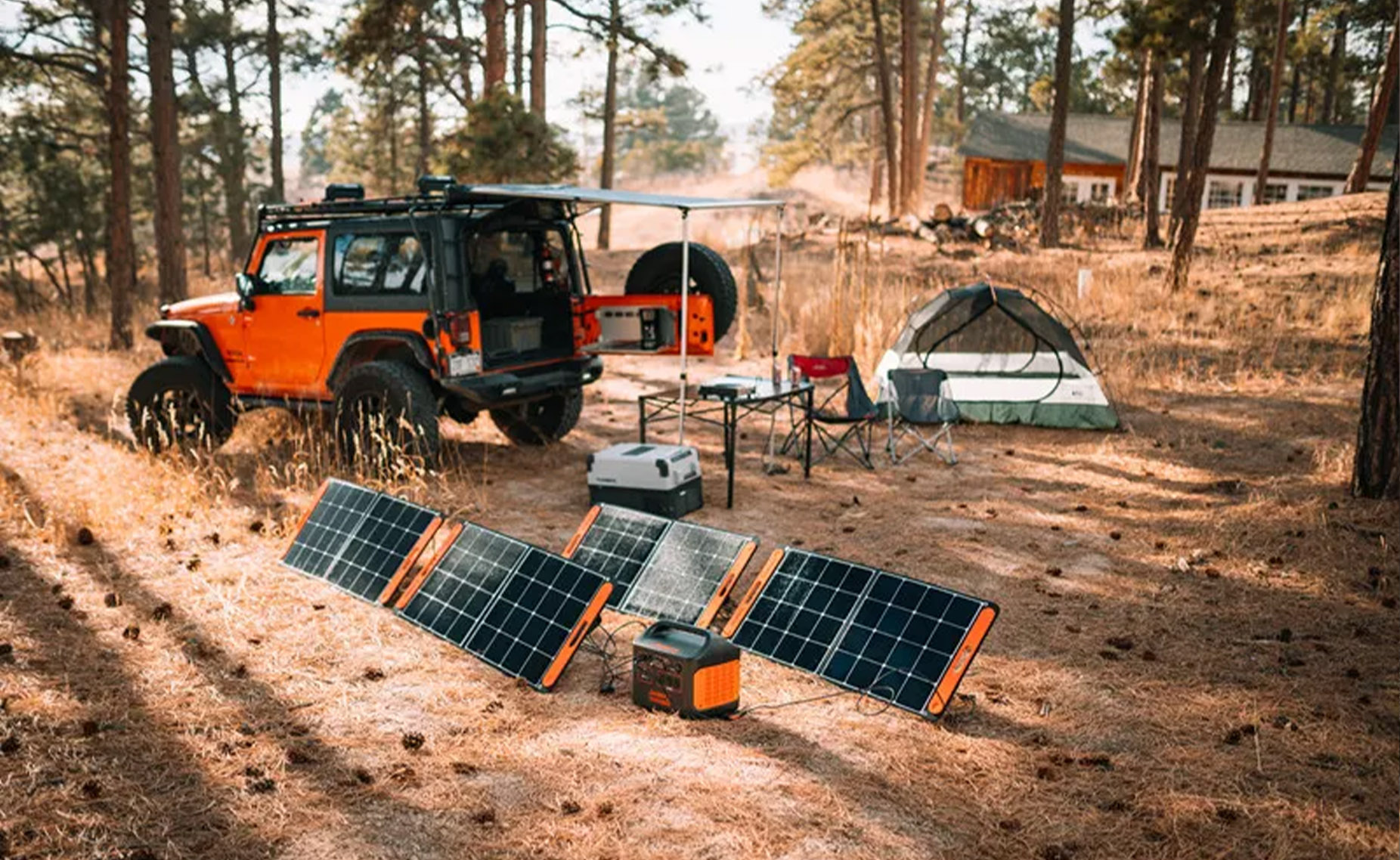 <p>This solar generator gave me a tiny, sweet taste of living off the grid thumbnail