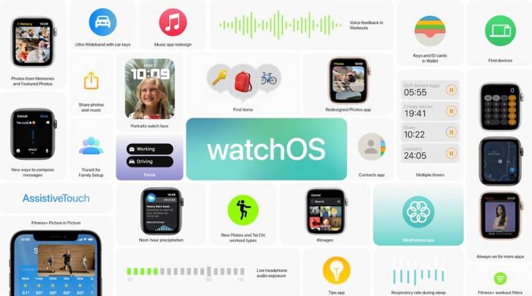 New features in watchOS 8