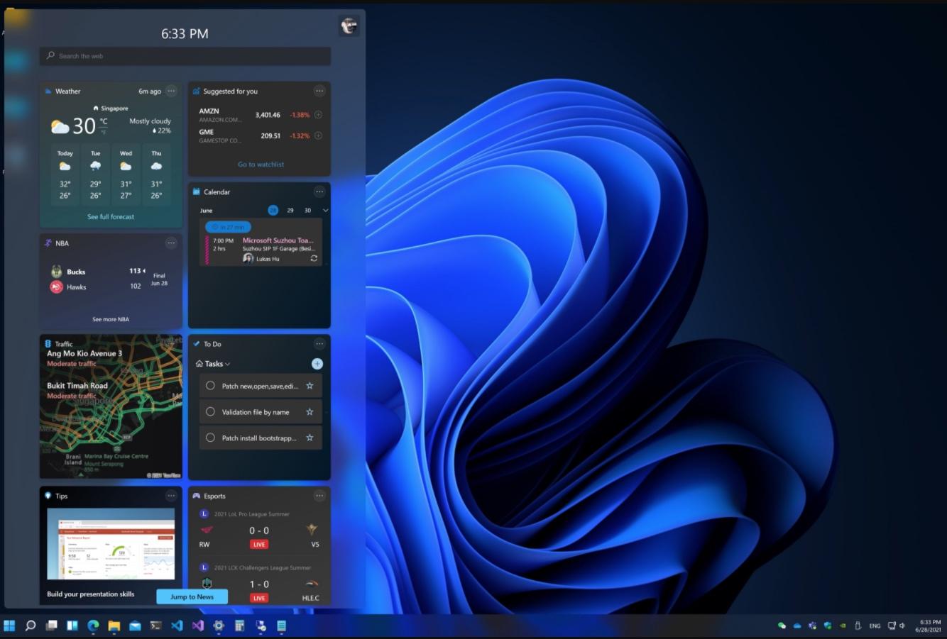 Mode sombre de Windows 11