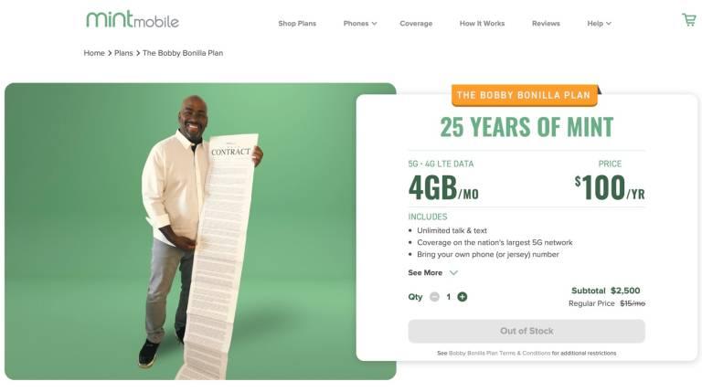 Mint Smartphone Plan