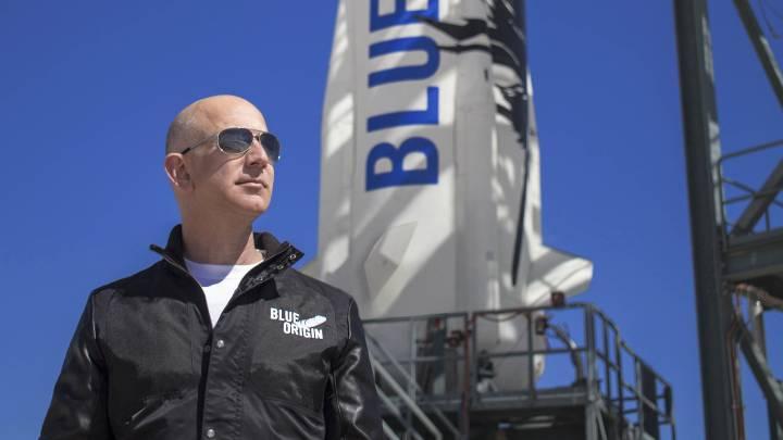 Bezos space flight