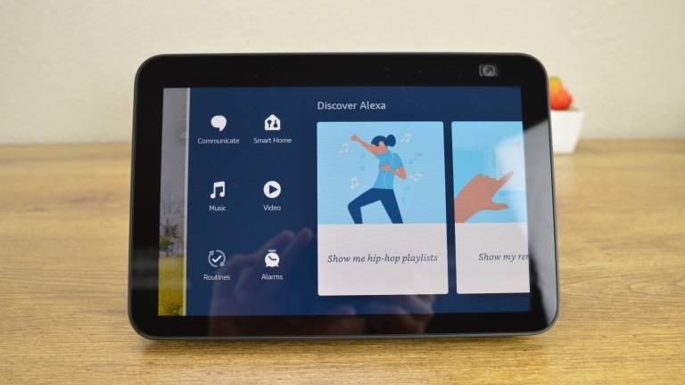 Interface Amazon Echo Show 8
