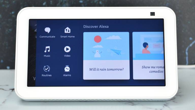 Amazon Echo Show 5 Controls