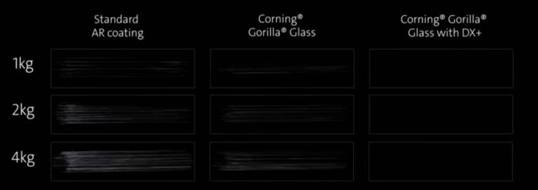 Corning Gorilla Glass DX et DX+