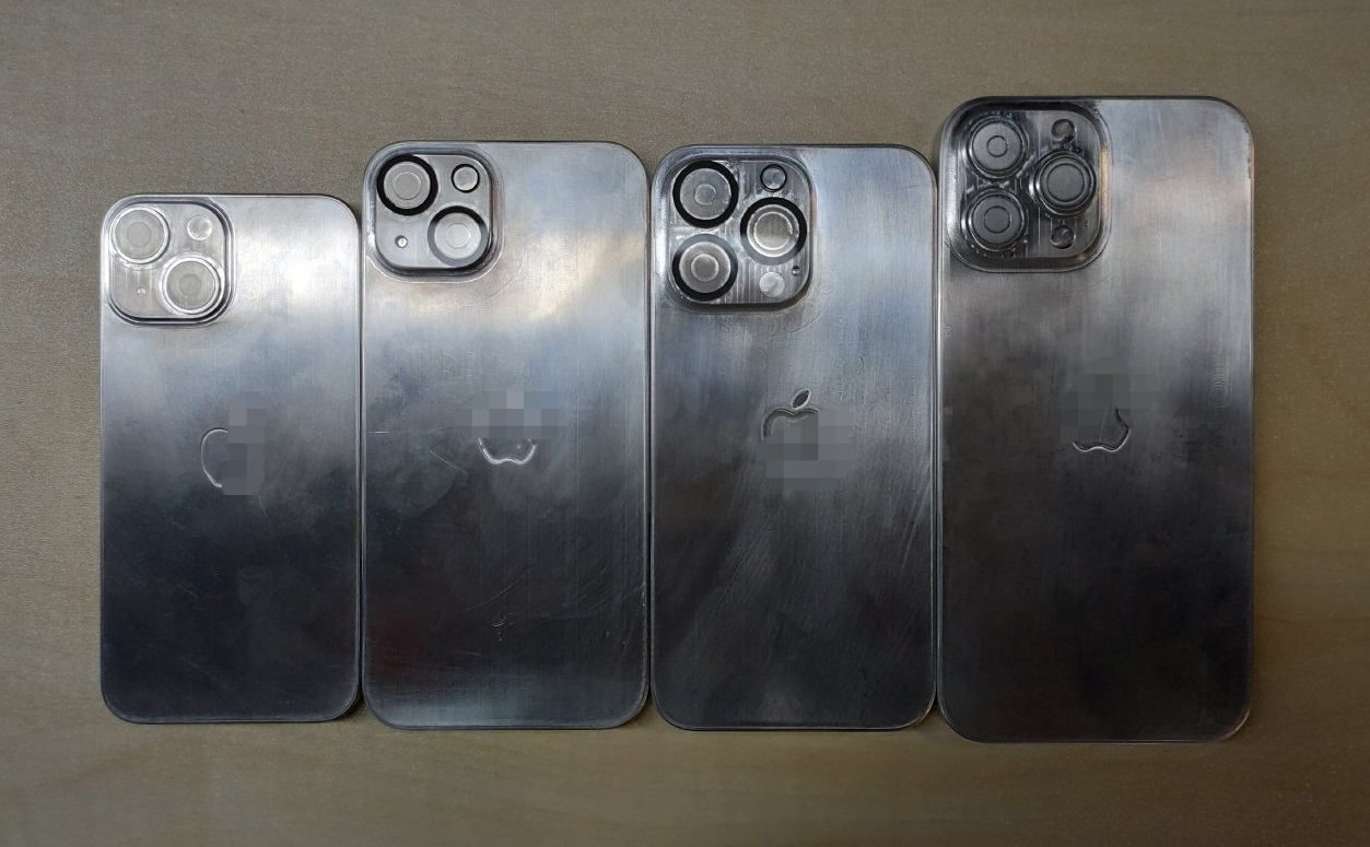 Leaked iPhone 13 molds