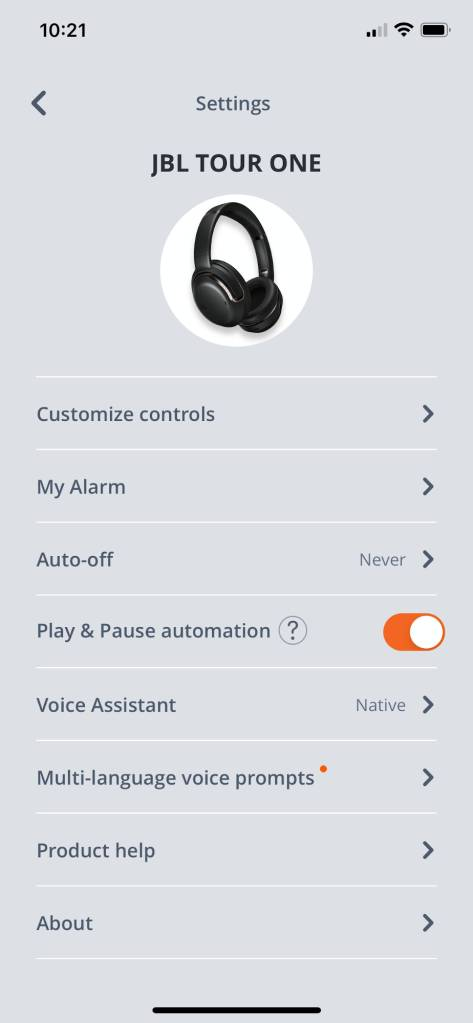 JBL Headphones App