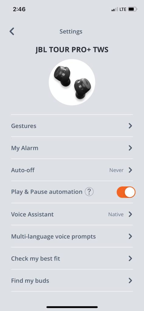 JBL My Headphones App