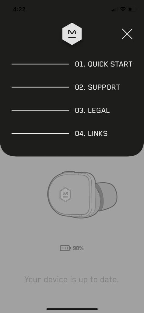 Master & Dynamic App