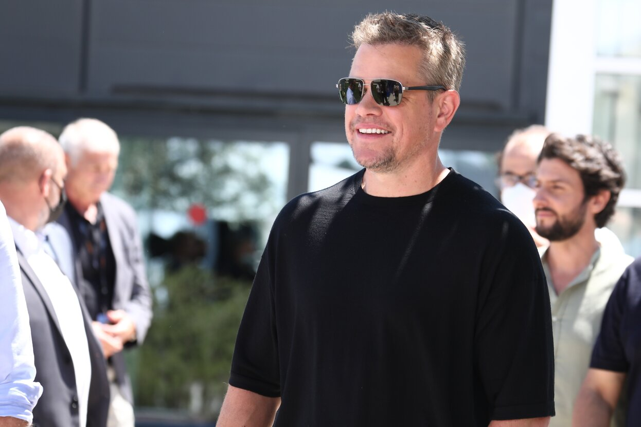 Watch Matt Damon talk about his first movie with Ben Affleck in almost 25 years