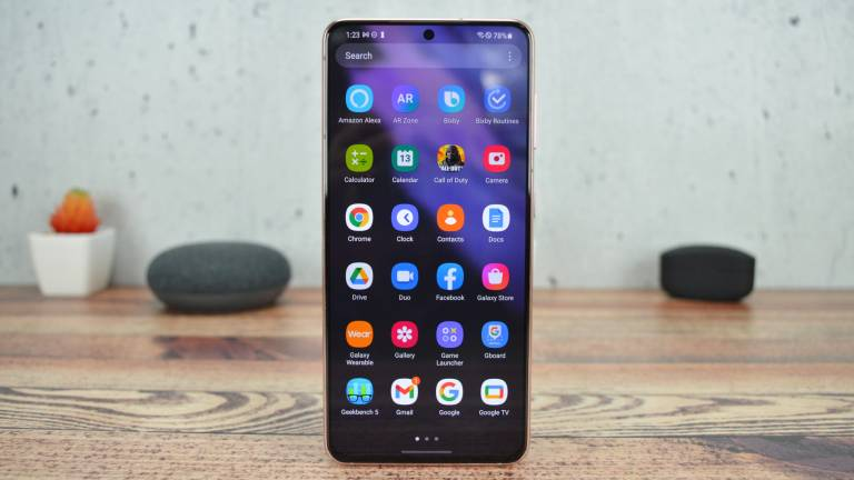 Samsung Galaxy S21 Front