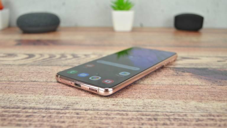 Samsung Galaxy S21 On Table