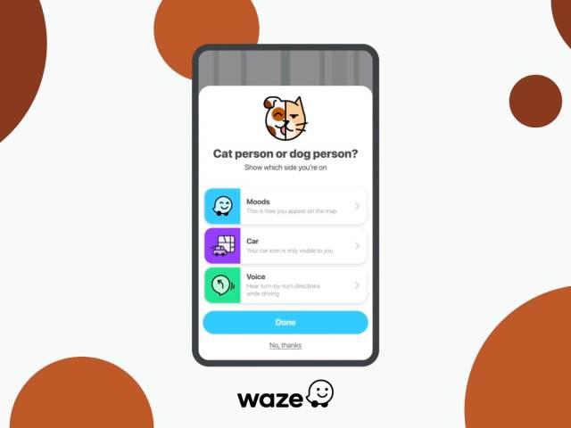 Waze Cat & Dog