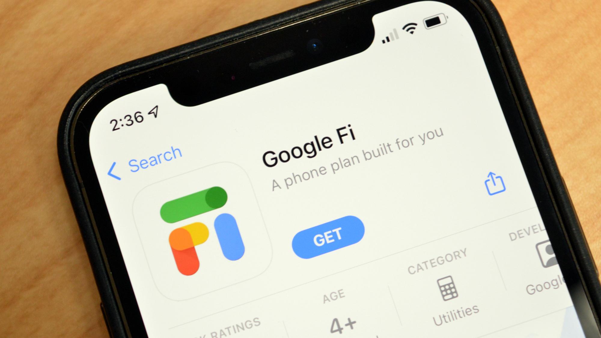 Google Fi App