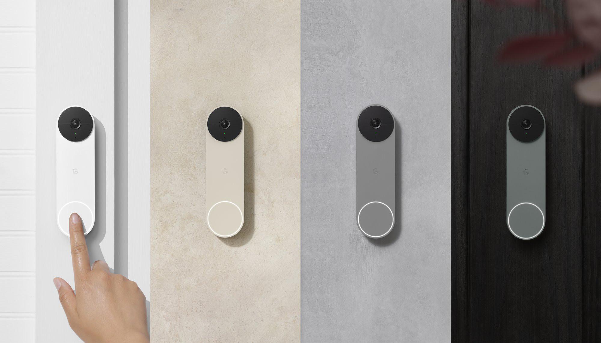 Google Nest Doorbell Battery Colors