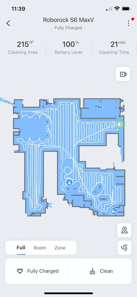 Roborock App Map