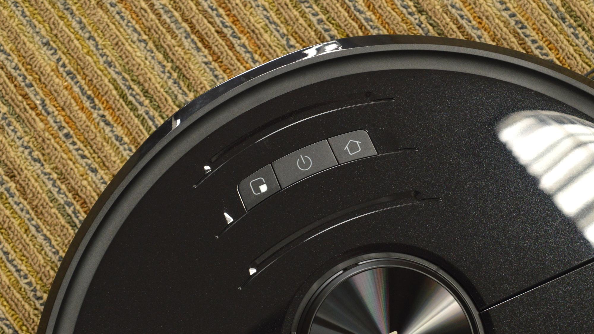 Roborock S6 MaxV Buttons