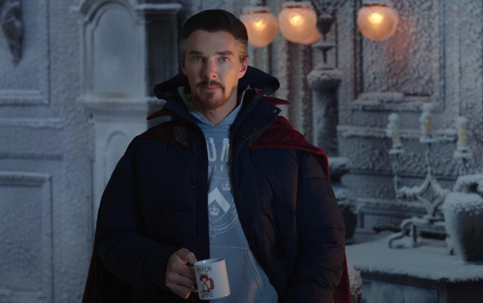 "Doctor Strange (Benedict Cumberbatch) in ""Spider-Man: No Way Home"" (2021)"