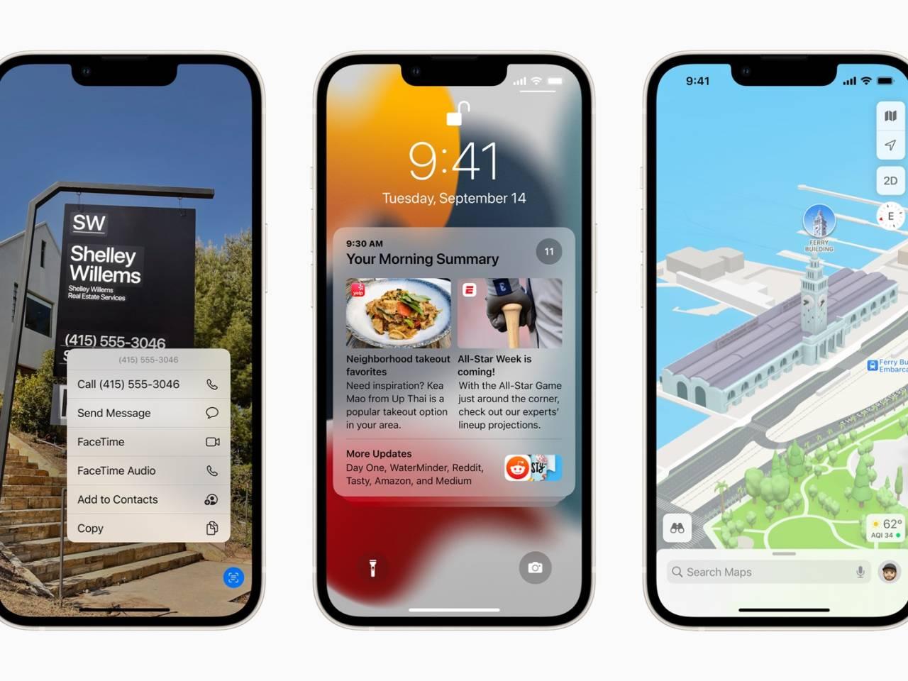 iOS 15 bug