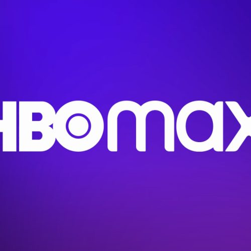 HBO Max logo on a color background
