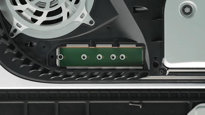 PS5 SSD storage