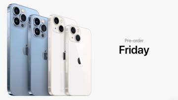 iPhone 13 preorders