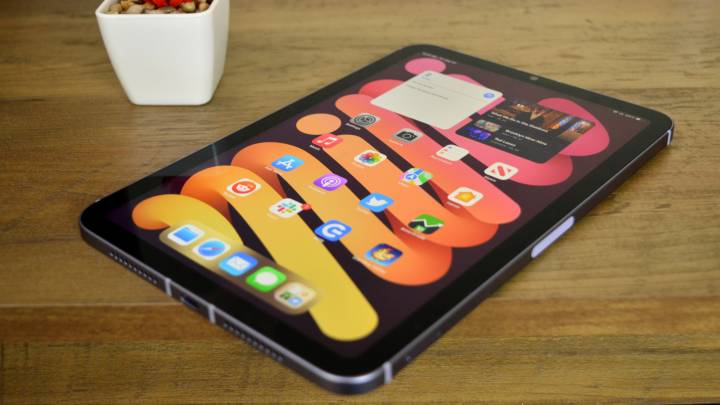 iPad mini 6 display
